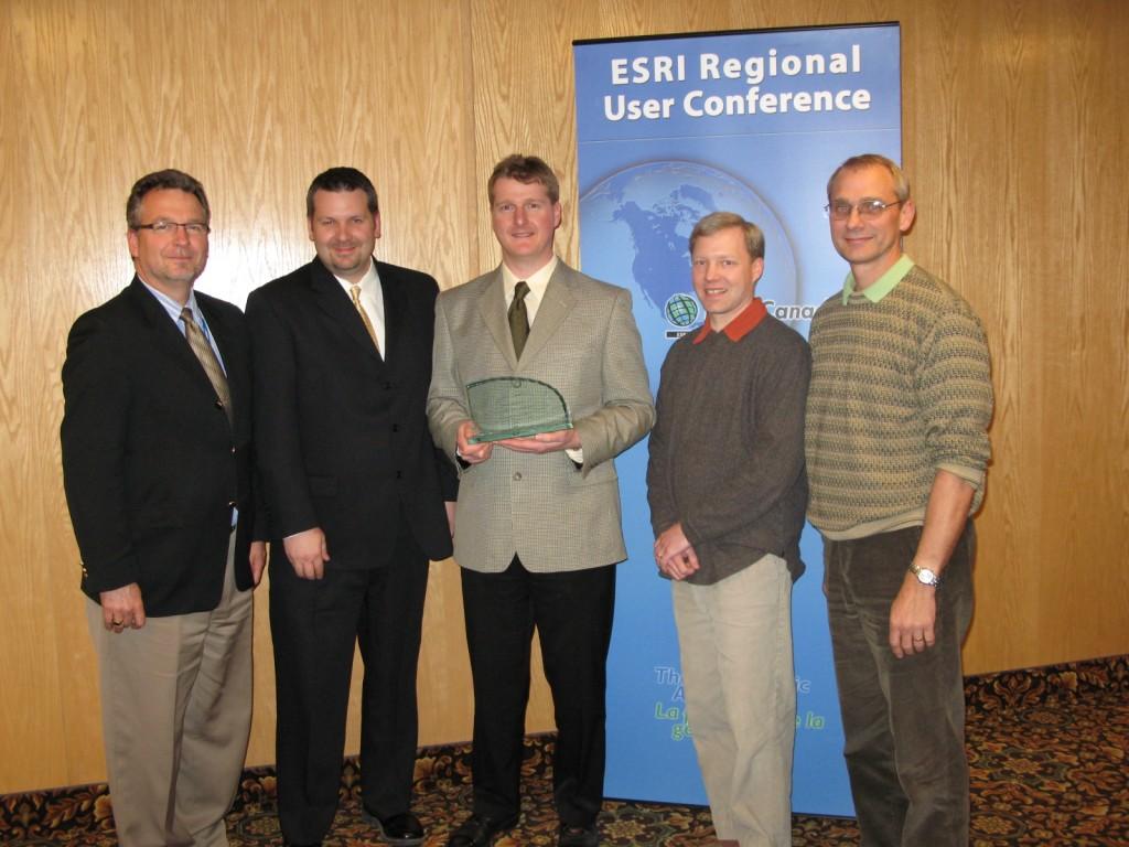 ESRI award 2008