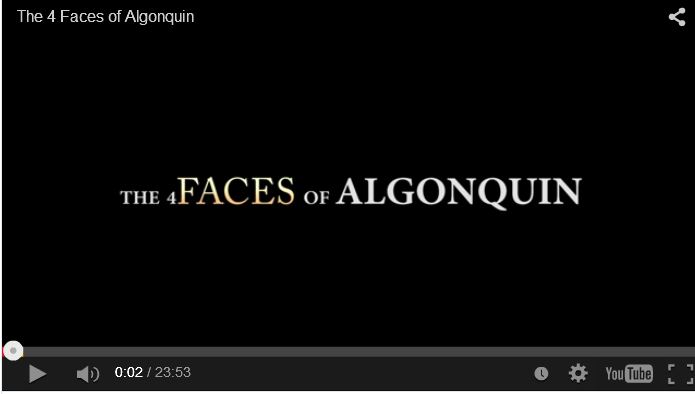 The 4 Faces of Algonquin